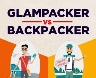Glampacker Vs Backpacker